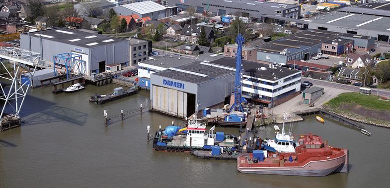 Energiebesparingsonderzoek en EED Damen Shipyards